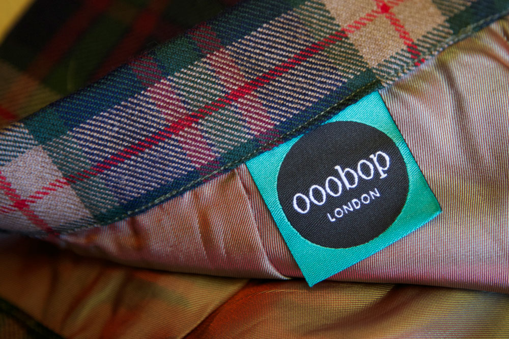 ooobop label in skirt