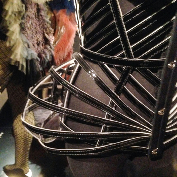 Gaultier leather cage