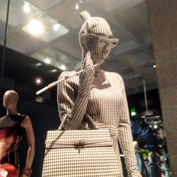 gaultier dogtooth allover