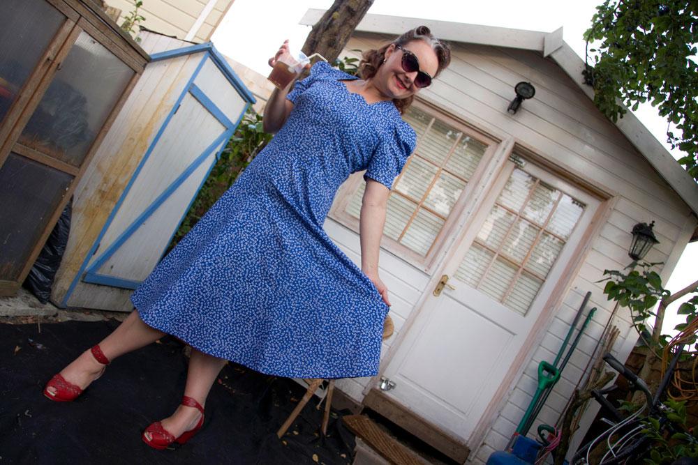 vintage 1939 dress
