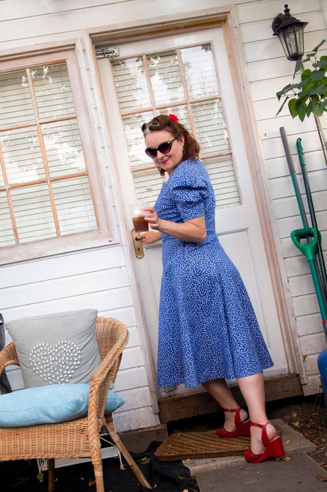 vintage simplicity 3302 dress