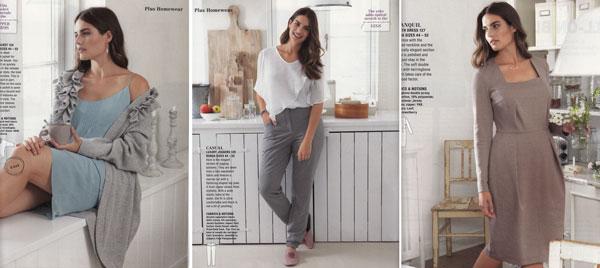 Plus Homewear Burda November 2014