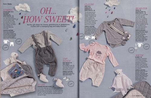 Burda Baby Clothes Nov 2014