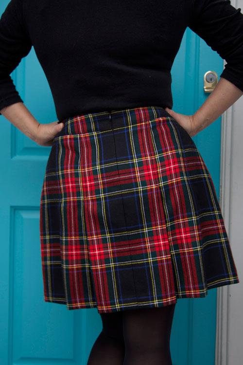 back of basler skirt