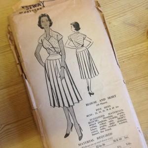 Bestway D.3,109 blouse pattern