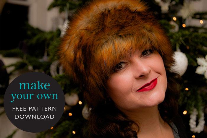 make your own fur hat free pattern