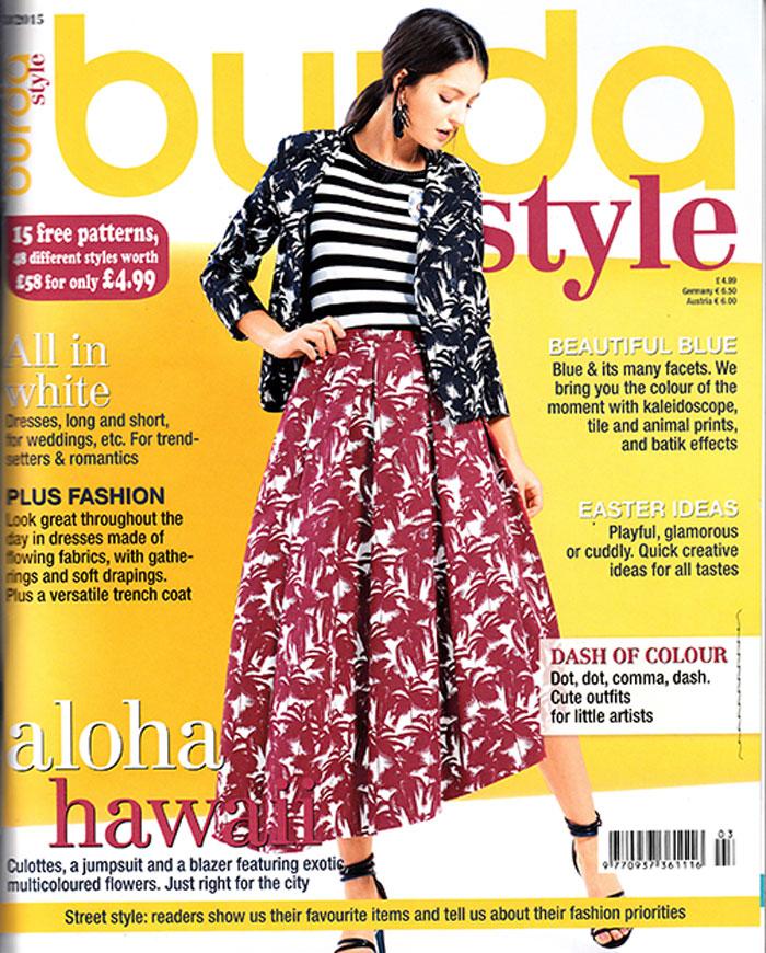 Burda Style March 2015 cover