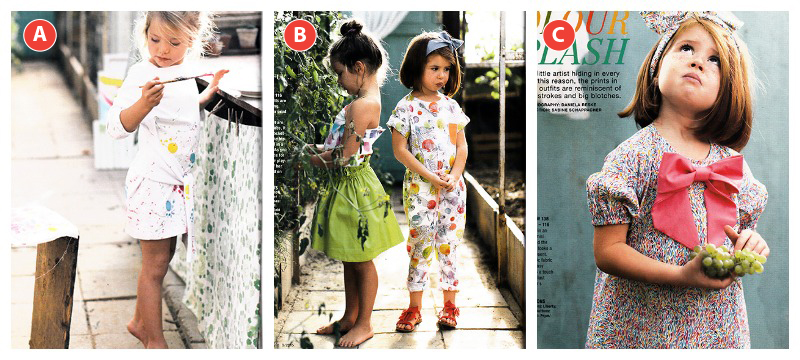 Childrens section burda style march 2015