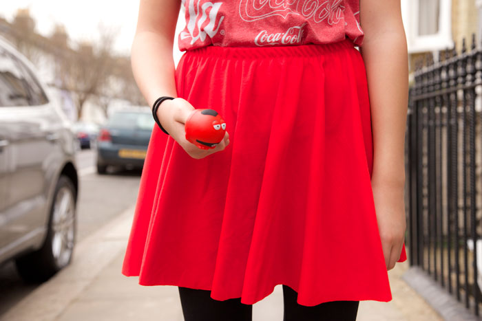 red skirt for red nose day