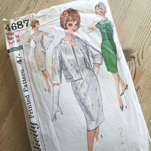 simplicity sewing pattern 4687