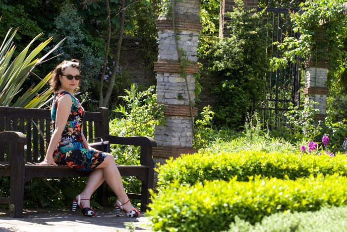 simplicity 4687 vintage dress