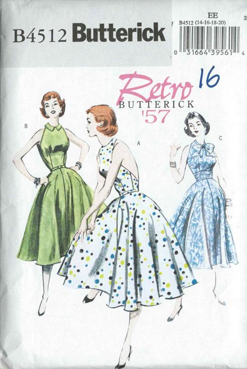 Butterick B4512 sewing pattern