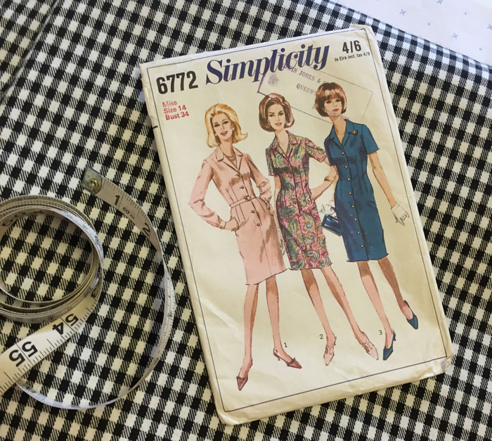simplicity 6772 packet