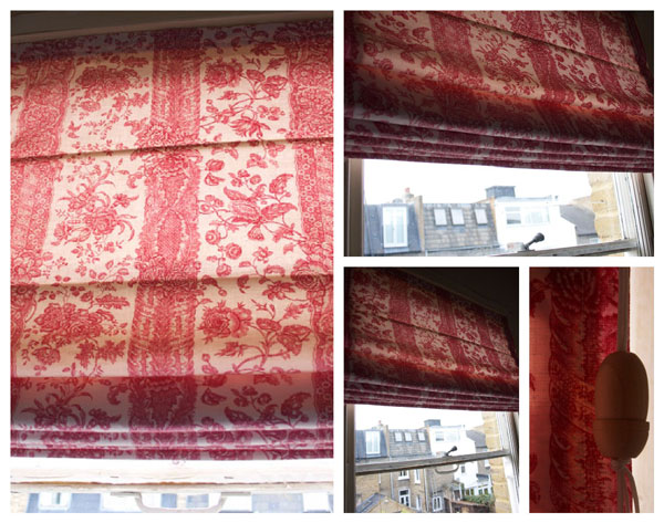 roman blind or roman shade
