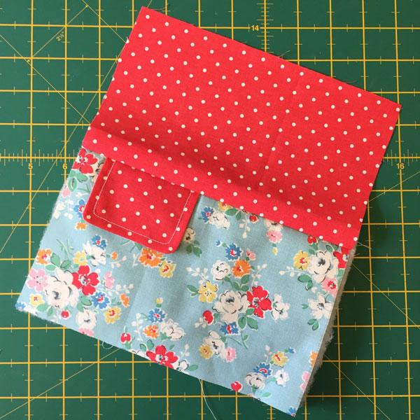 top edge sewn