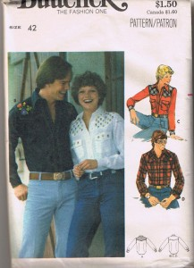 butterick 5007 pattern cover