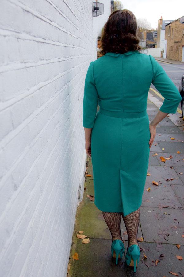 Joan Dress back view