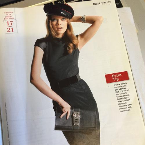burda style 2012 cap sleeve top