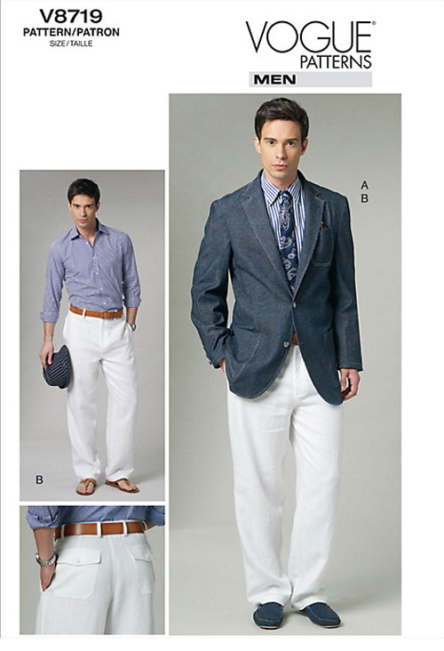Vogue 8719 mans jacket