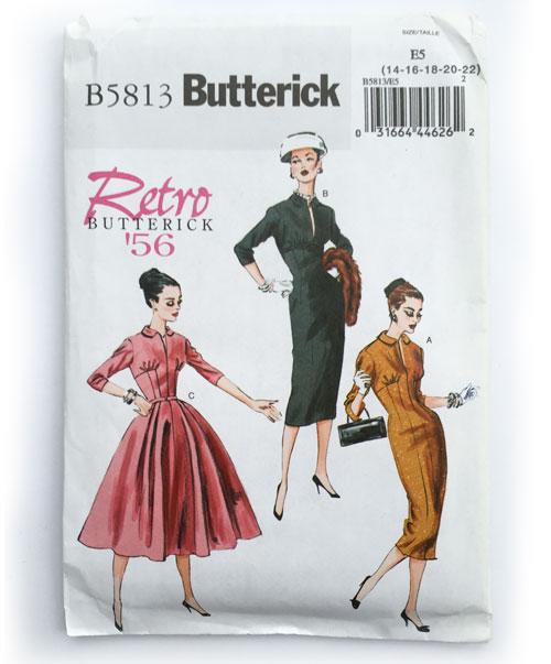 retro butterick 5813