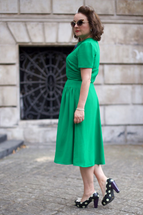 Blackmore 1940s dress