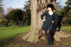 BHL Alix dress in Black Watch tartan