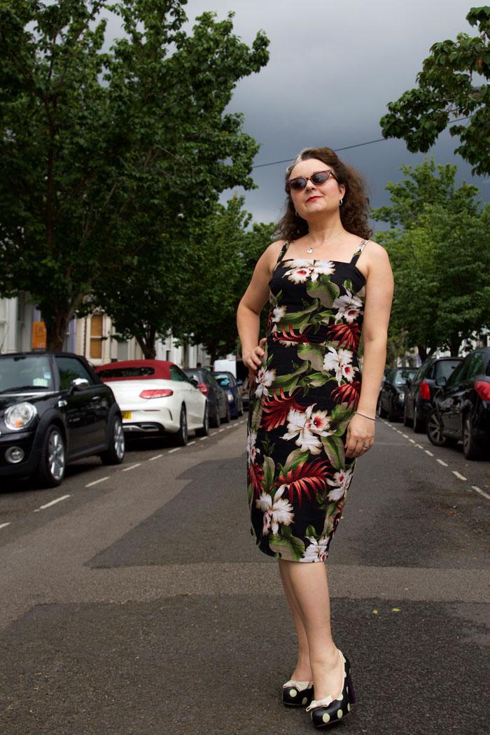 vintage blackmore 9266 dress