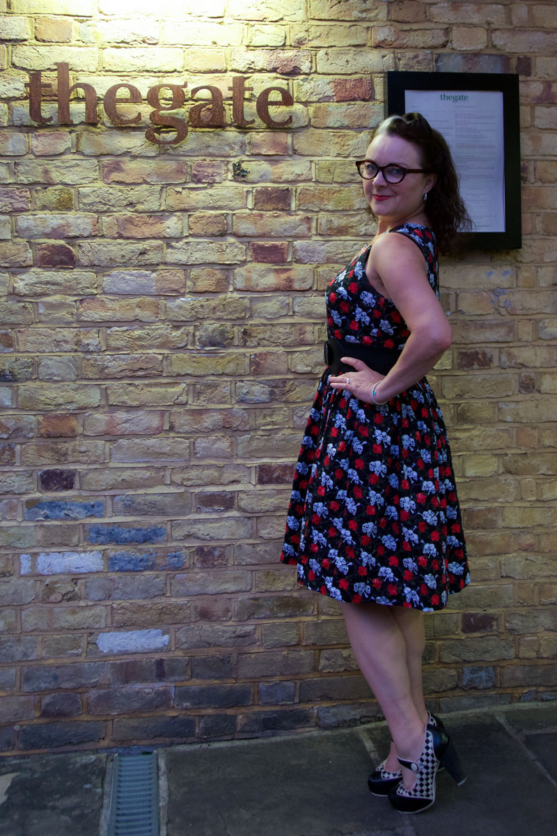 Ooobop Skulls and Roses dress