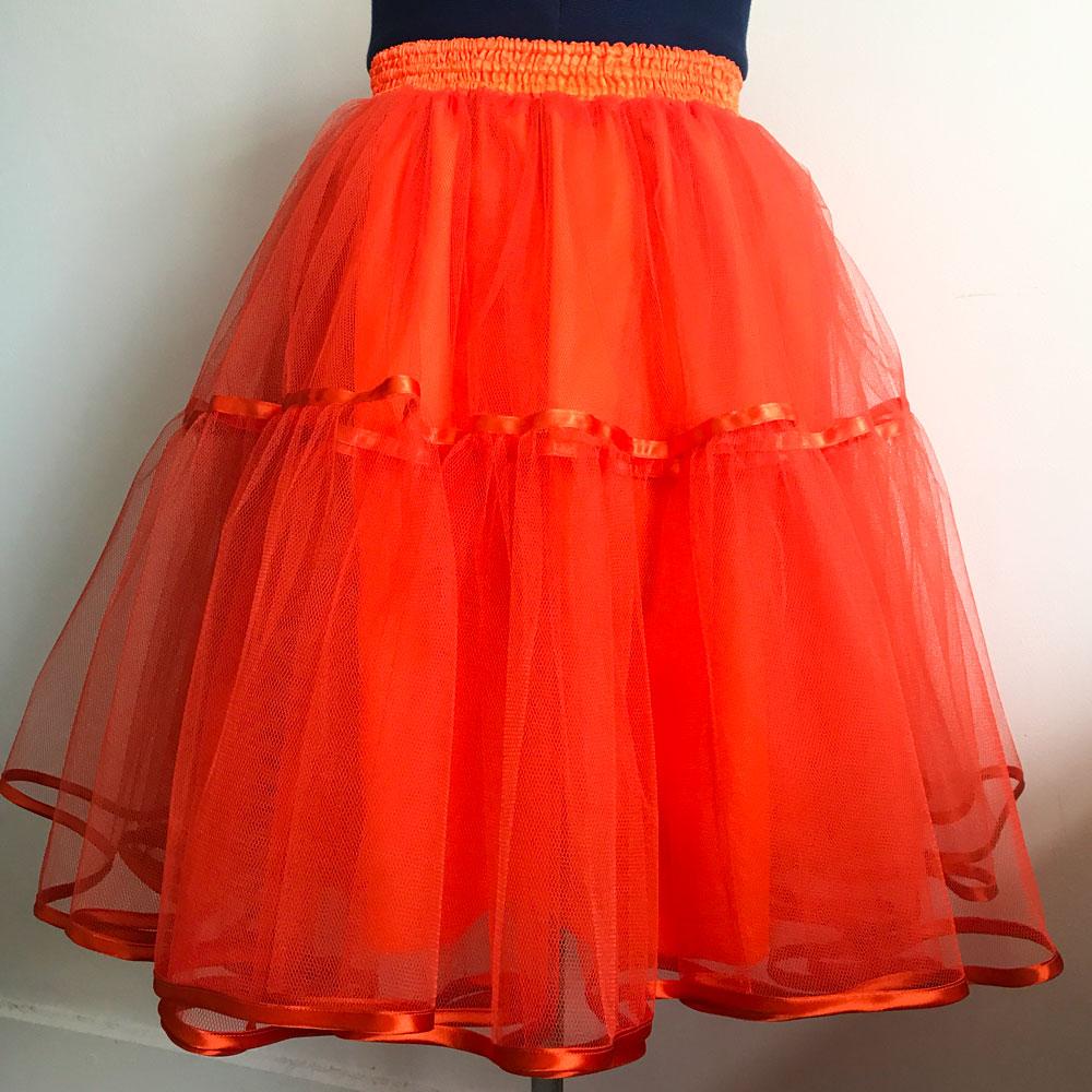 tangerine petticoat