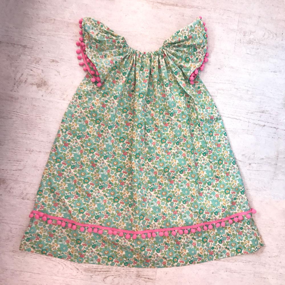 angel sleeve dress ooobop
