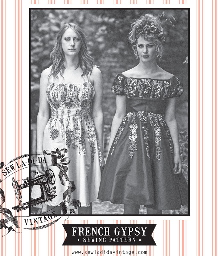 Gypsey Dress sewing pattern