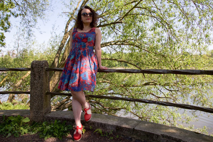 Liberty Lawn dress by ooobop