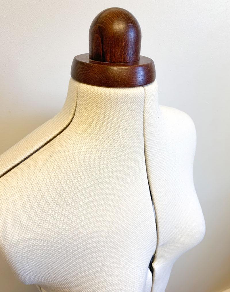 Adjustoform lady valet dressform bust