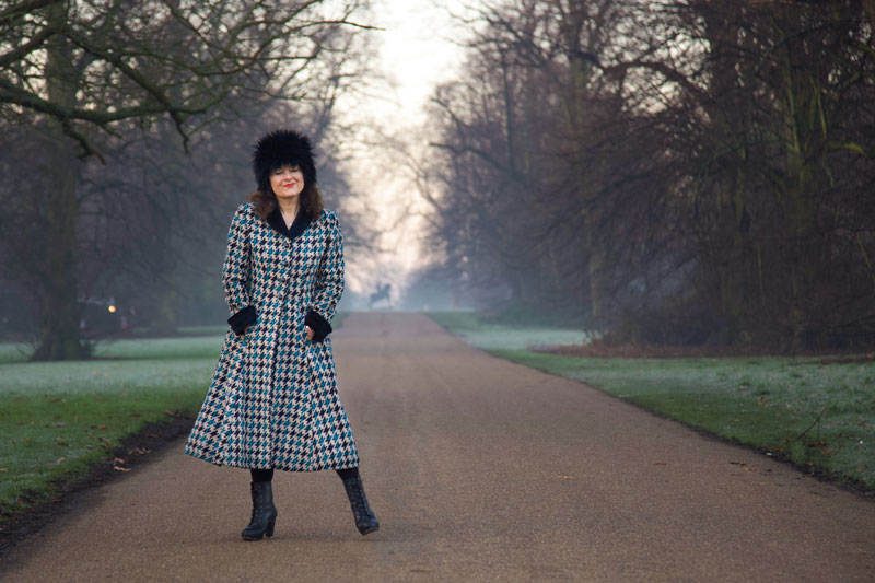 Butterick 547 coat full length