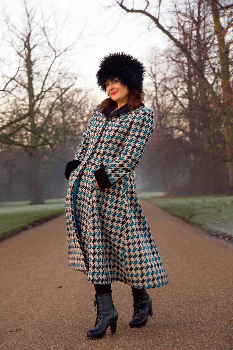 vintage Butterick coat by ooobop