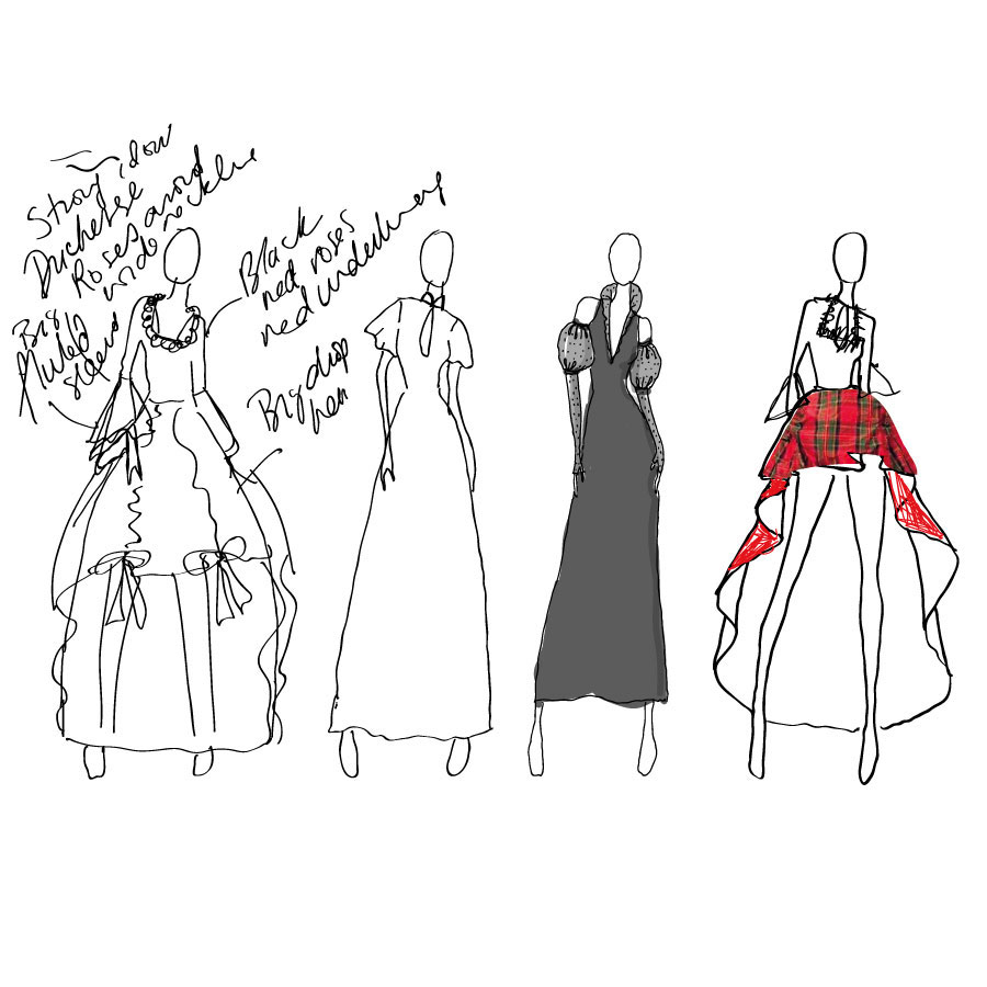 designs for ooobop ballgown